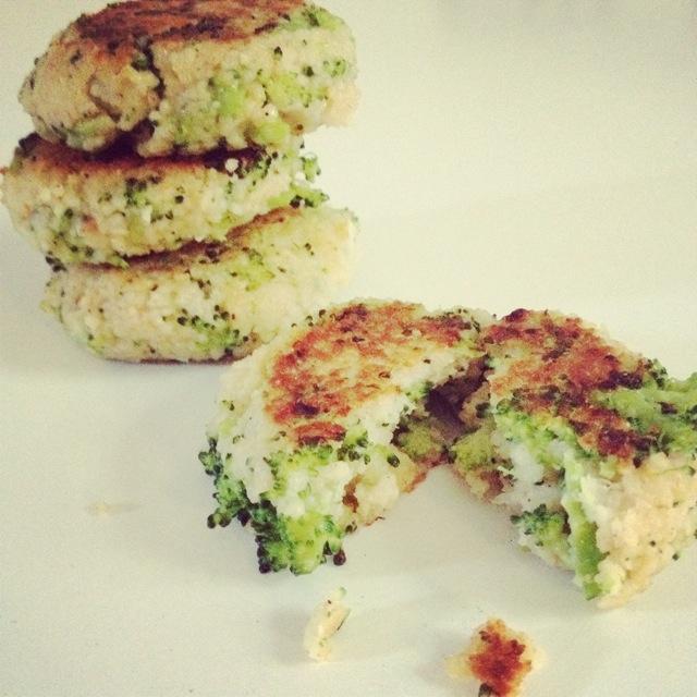 Rezepte… {vegetarische Broccoli-Couscous-Frikadellen}
