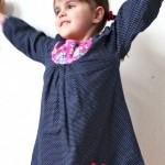 Teddyweste und Töchterchenpremiere…