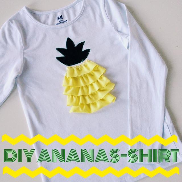 DIY – {Pimp my Shirt: Jetzt wird´s fruchtig}