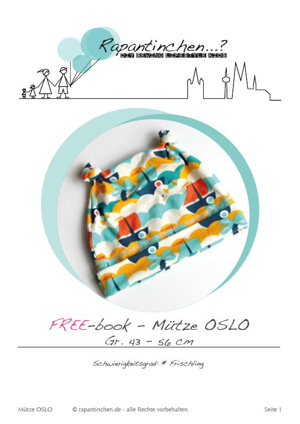 Deckblatt Zipfelmütze OSLO