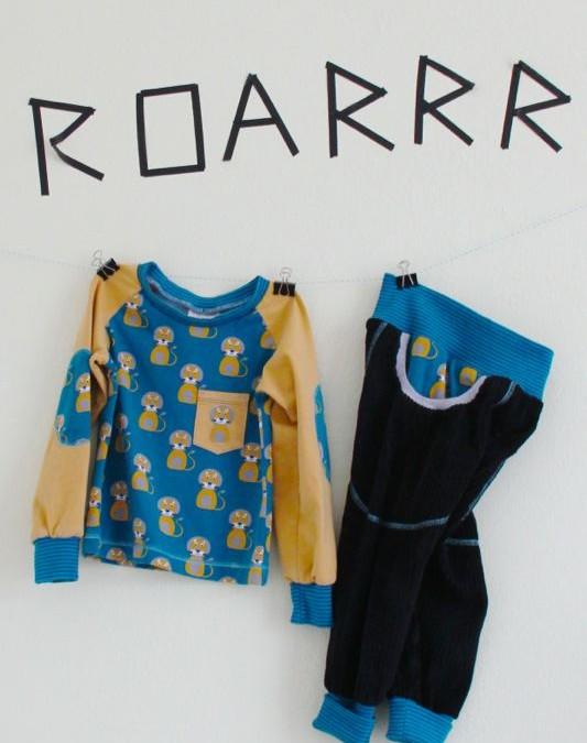 Genäht – {neue Kleidung für Löwenkinder}