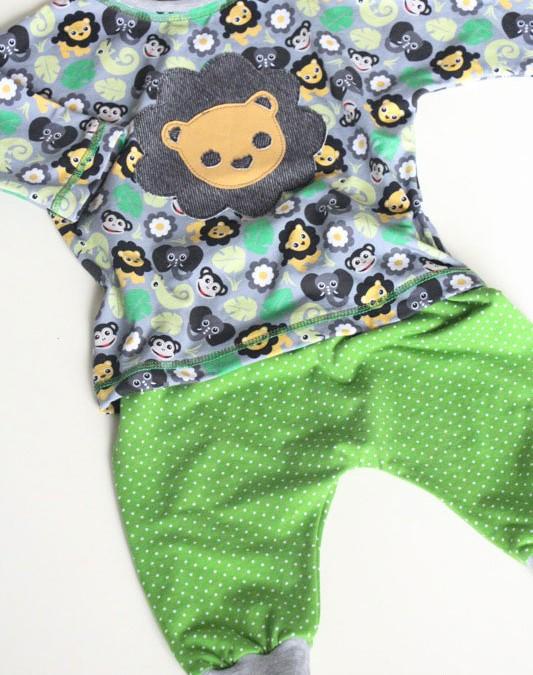 genäht – {4 Schnittteile, 1 Outfit aus dem neuen Malomi-Design von Stoffe Hemmers}  Werbung