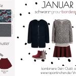 {Sew your Style} – Farbthema schwarz-grau-bordeaux