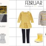 {Sew your Style} – Farbthema schwarz-weiß-gelb