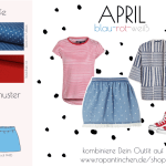 {Sew your Style} – Nähsets in blau-rot-weiß