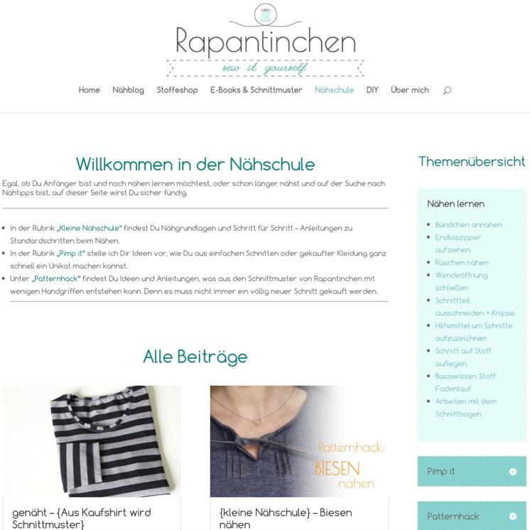 Update Nähschule