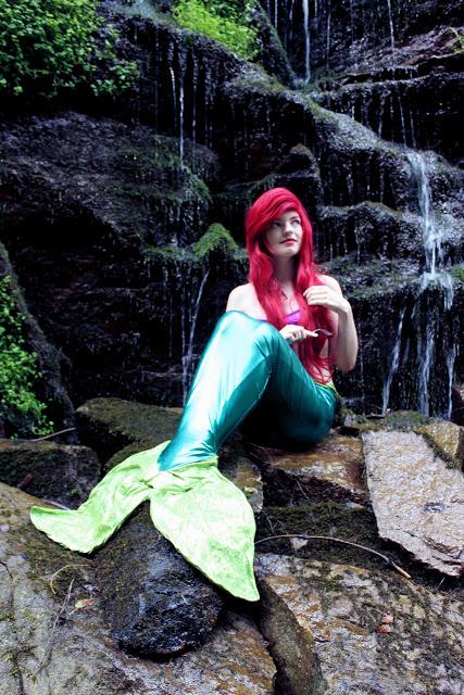 Disney Meerjungfrau von Lichtstaubmelodie