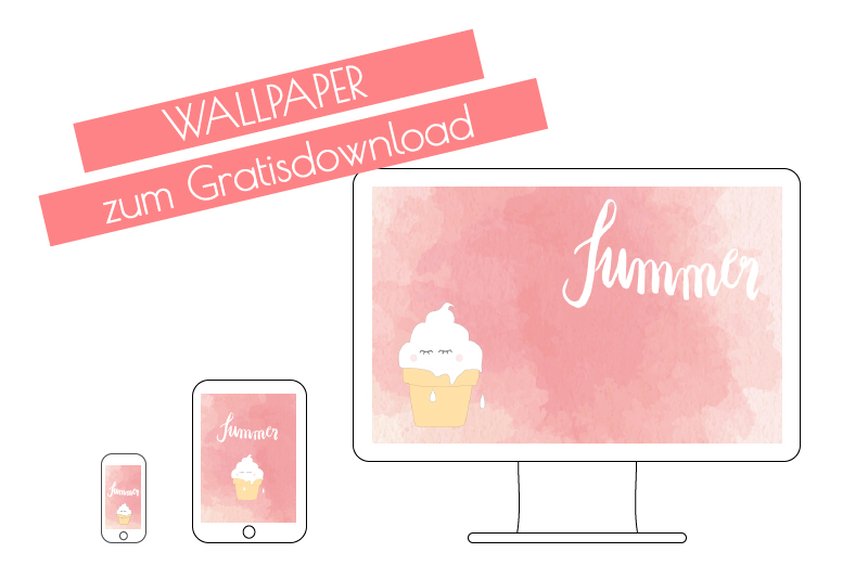 Gratis Wallpaper – Summer Ice