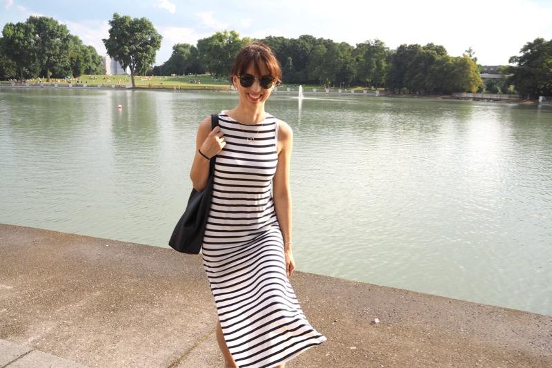 {12lettersofhandmadefashion} – Selbstgenähtes Sommerkleid aus StreifenStoff