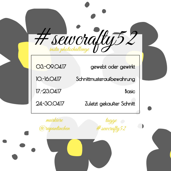 {#sewcrafty52} – Insta Photo Challenge 4/17