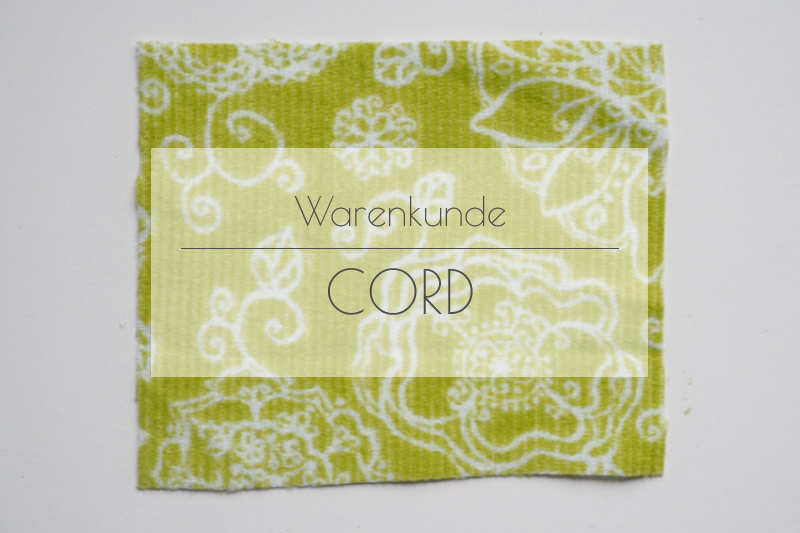 Stofflexikon – Was ist Cord?