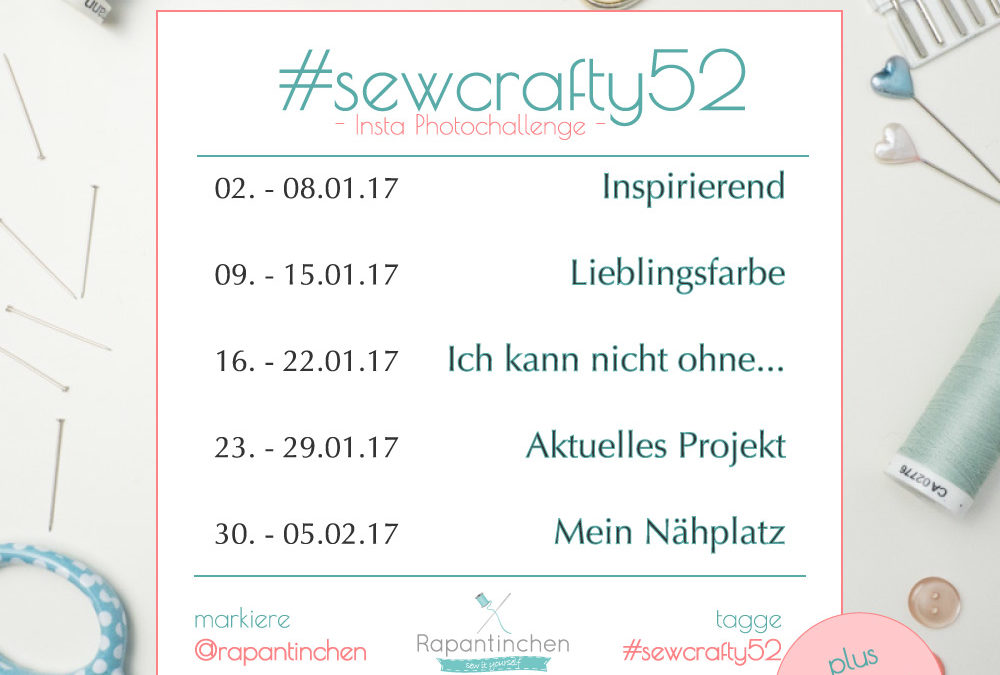 {#sewcrafty52} – Instagram Photo Challenge 01/17