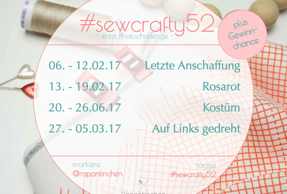 {#sewcrafty52} – Instagram Photo Challenge 2/17