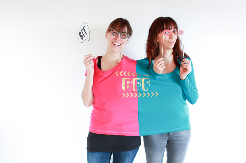 freebook Schnittmuster, BFF-Shirt