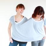 Freebook Schnittmuster T-Shirt Nähen