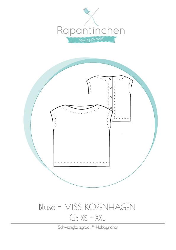 Schnittmuster Bluse Miss Kopenhagen