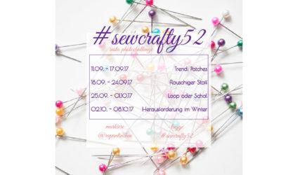 #sewcrafty52 – 09/17