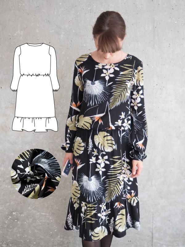 Kleid nahen reihenfolge