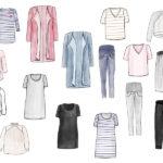 Frühjahres – Capsule Wardrobe für Schwangere