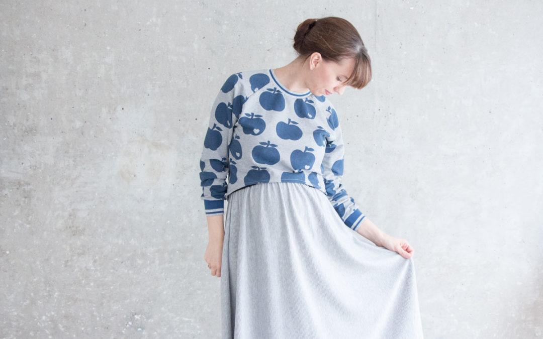 Apfelliebe – Kurz-Sweater trifft byGraziela *Werbung*