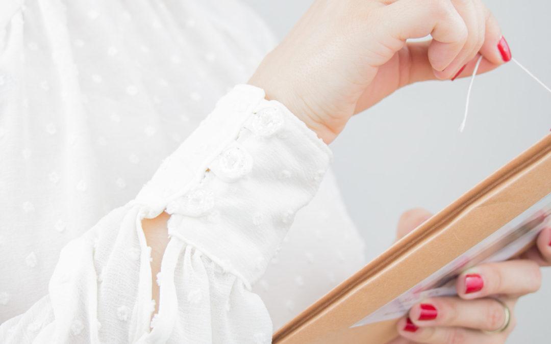 Eine Rüschenbluse für meine Capsule Wardrobe *Werbung*
