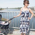 Patternhack – Kleid Catarina von Seamwork als Stillkleid