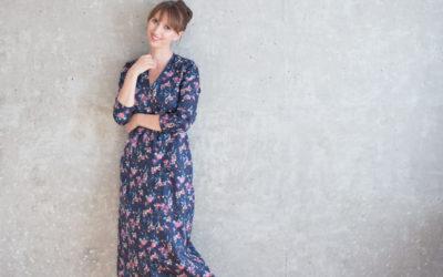 Mein neues Blumenkleid mit Beinkleidproblem – Werbung