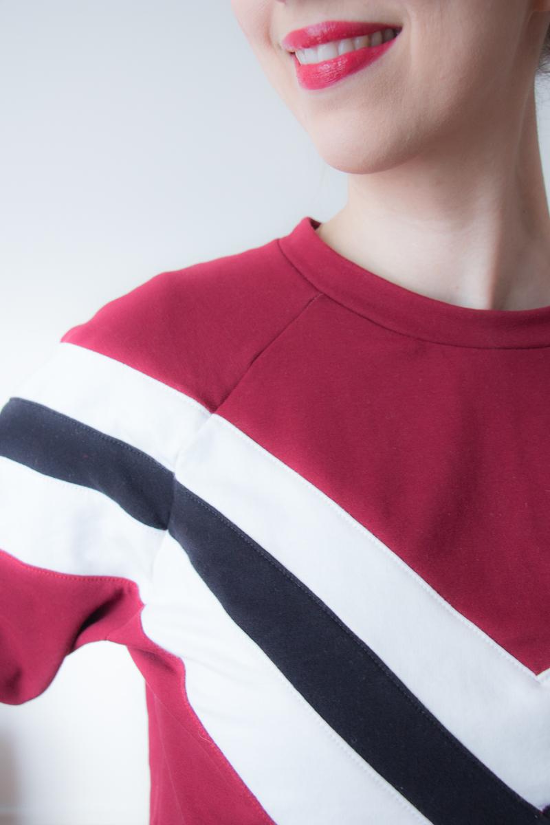 Colorblocking Pullover nähen