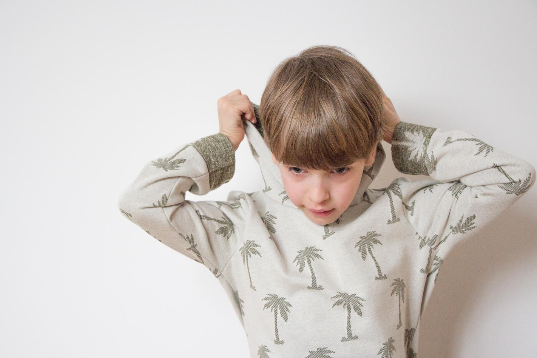 hoodie Schnittmuster Kinder little darling