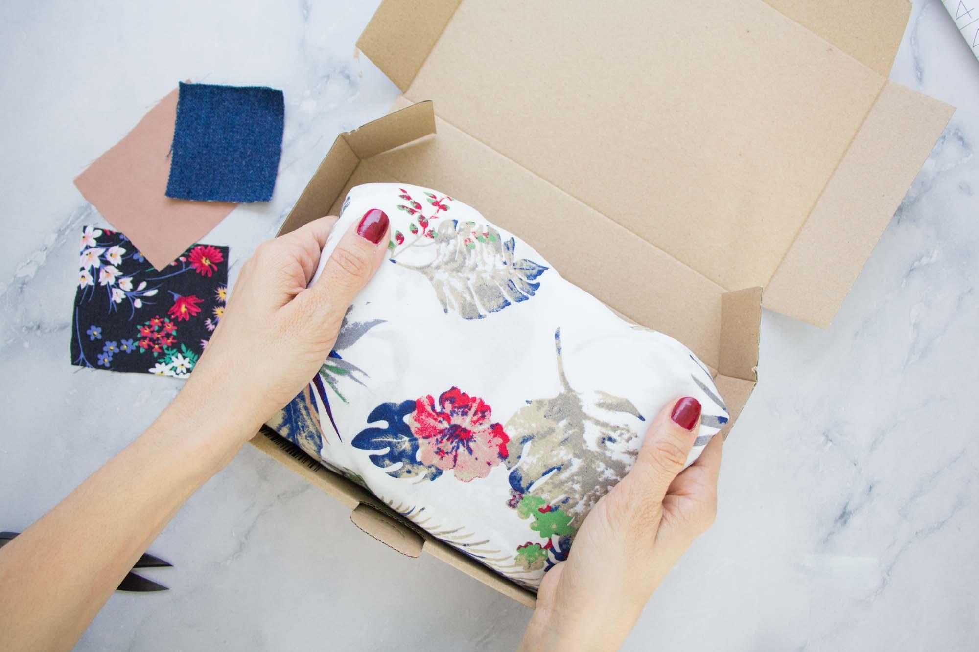 Stoffe online kaufen - lieferung