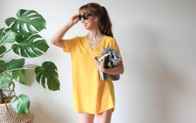 {Werbung} Ein Strandkleid nähen mit Milliblus