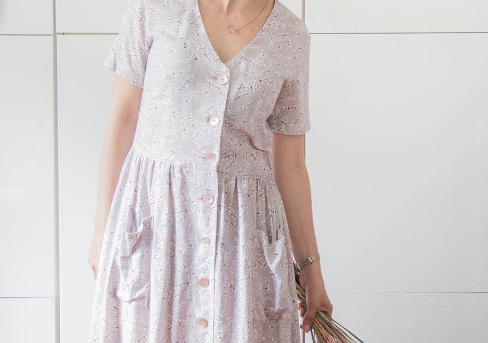 Mein Sommerkleid – Das Kleid Paris von Schnittliebe
