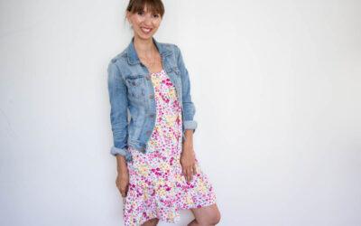 Patternhack – Aus dem Sommertop Greta wird ein Kleid