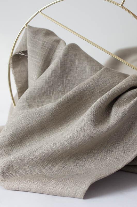 Viskose-Leinen-Mischung für Dein Sommerkleid