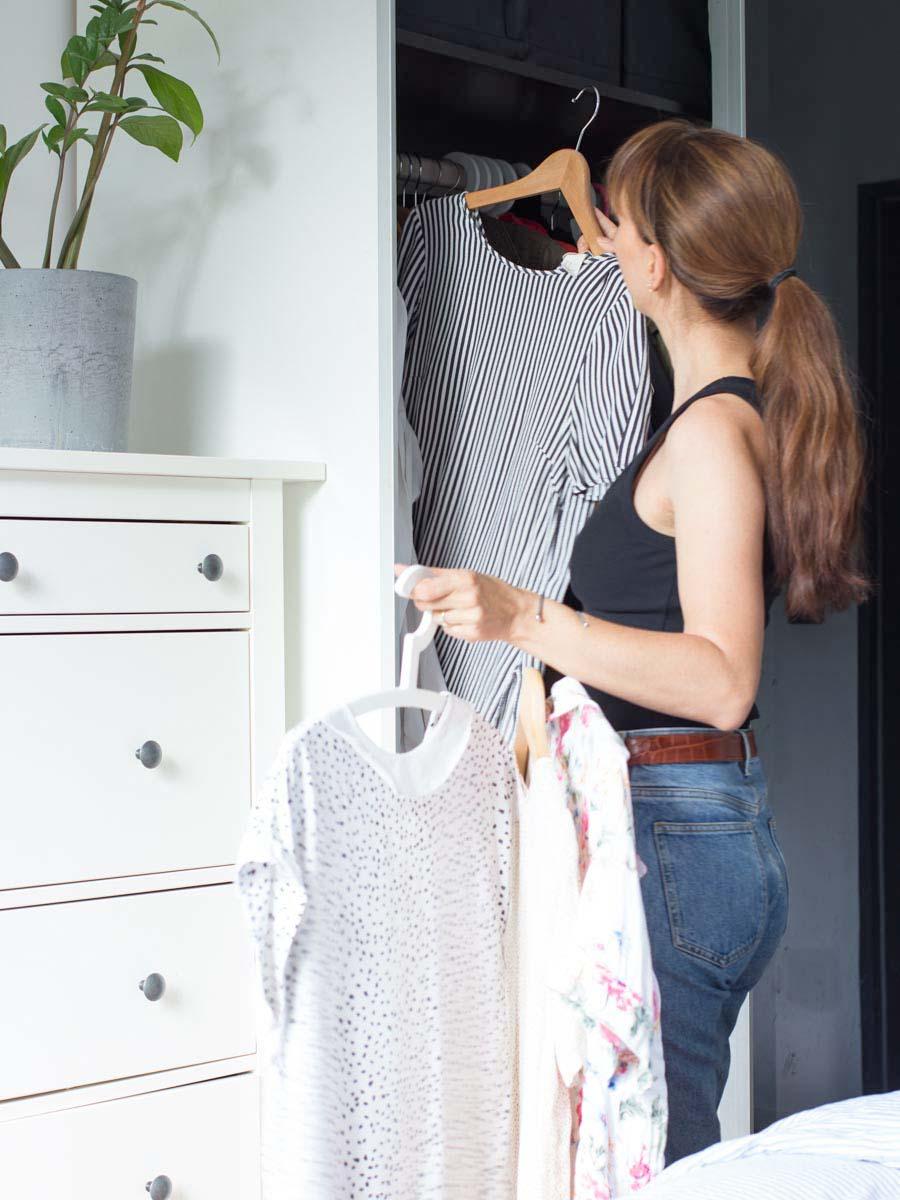 Capsule Wardrobe Herbst-Winter2020 Kleiderschrank aussortieren