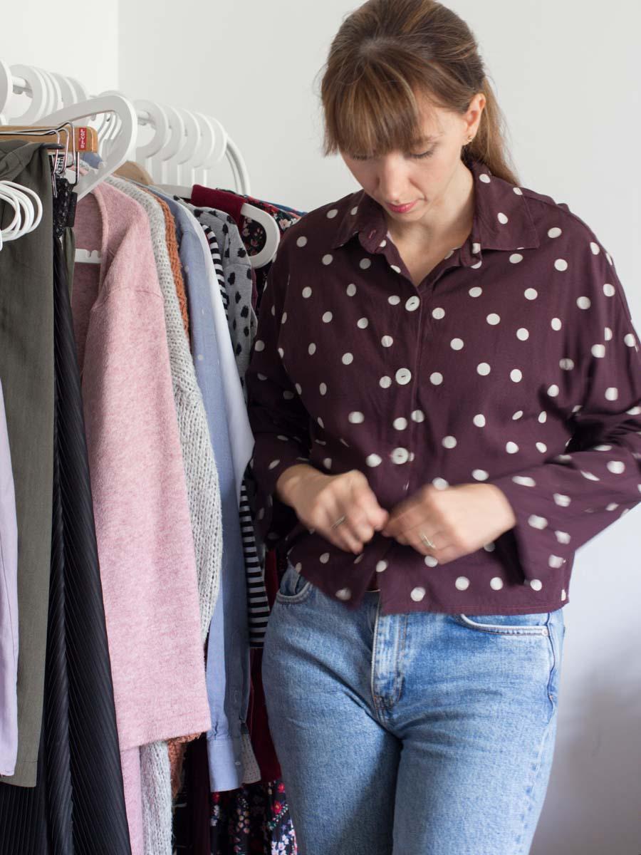 Capsule Wardrobe Herbst-Winter2020 Winterkleidung anprobieren