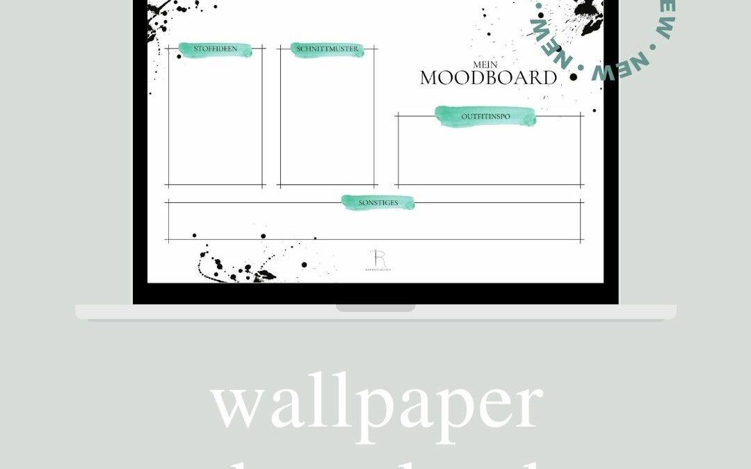 Gratis Wallpaper-Moodboard